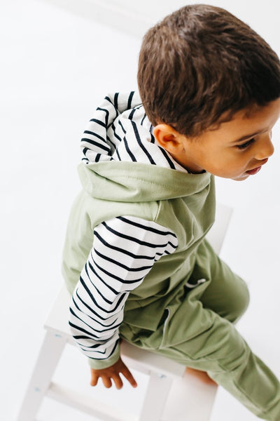 Little Bipsy - Stripe Hoodies