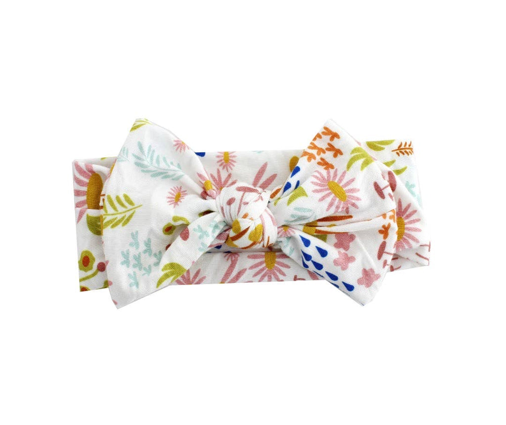 Wildflower Bamboo Baby Headband