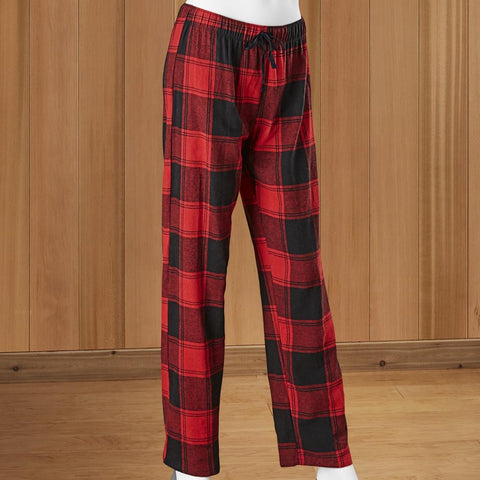 WOMEN'S Buffalo Check Lounge Pants by Hello Mello