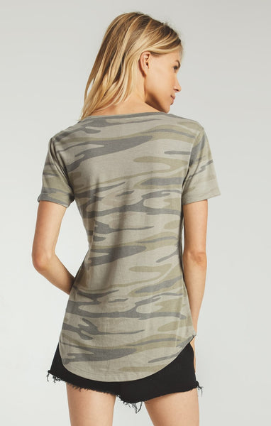 Sage Camo Pocket Tee by Z SUPPLY