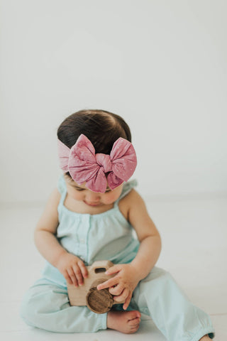 "Baby Bling - ""DEBS"" Dang Enormous Bow Headbands"