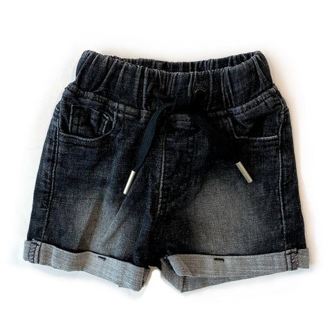 Little Bipsy - Black Denim Shorts