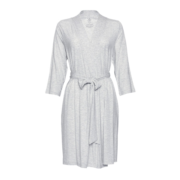 Posh Peanut - ATHLETIC GREY HEATHER Robe