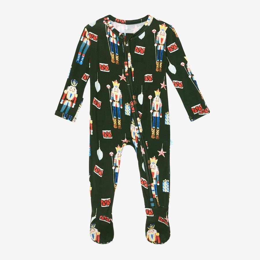 Posh Peanut - THOMAS TOY SOLDIER Footie Zippered Onesie