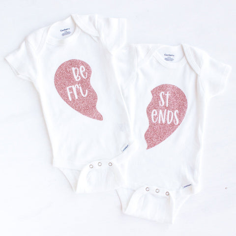 Best Friends Onesie Set (pack of 2)