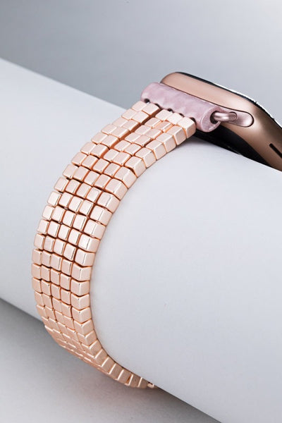 Cube Bead Apple Watch Bracelet