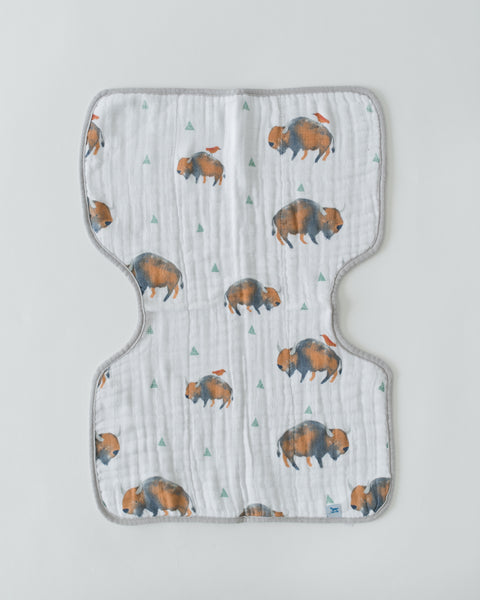 Little Unicorn - BUFFALO Cotton Muslin Burp Cloth