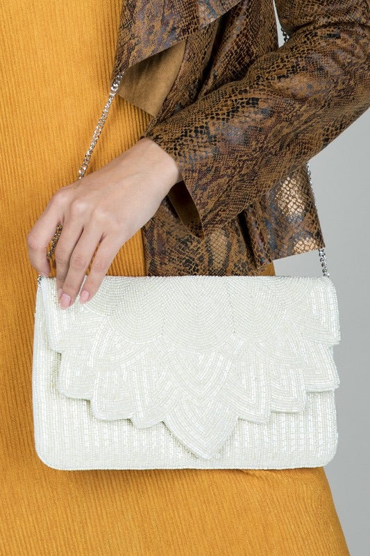 Beaded Crossbody/Clutch Bag