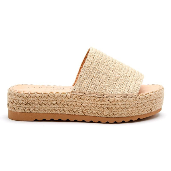 Del Mar Natural Platform Sandals by Matisse Coconuts Collection