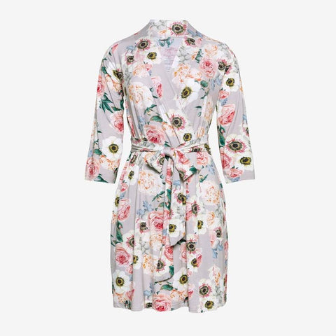 Posh Peanut - FRENCH GREY FLORAL Robe
