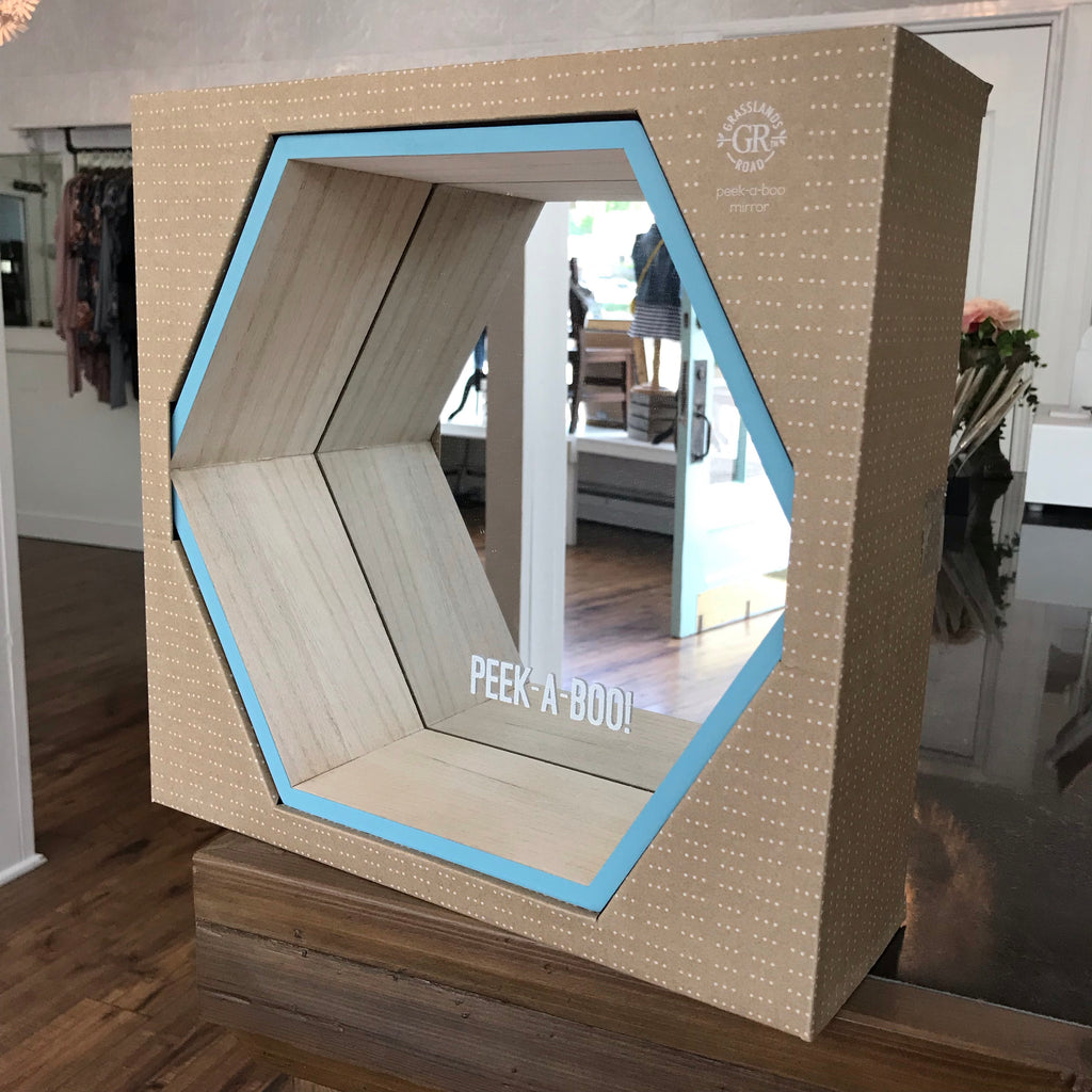 Peek-a-Boo Geometric Mirror