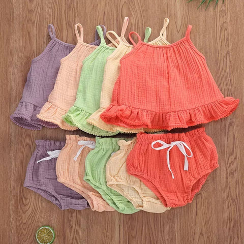 Swing Top Bloomer Set