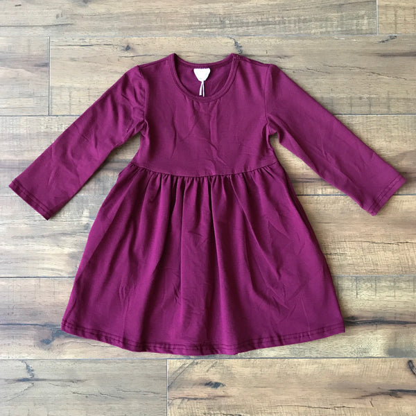 Long Sleeve Twirl Dress (more colors)