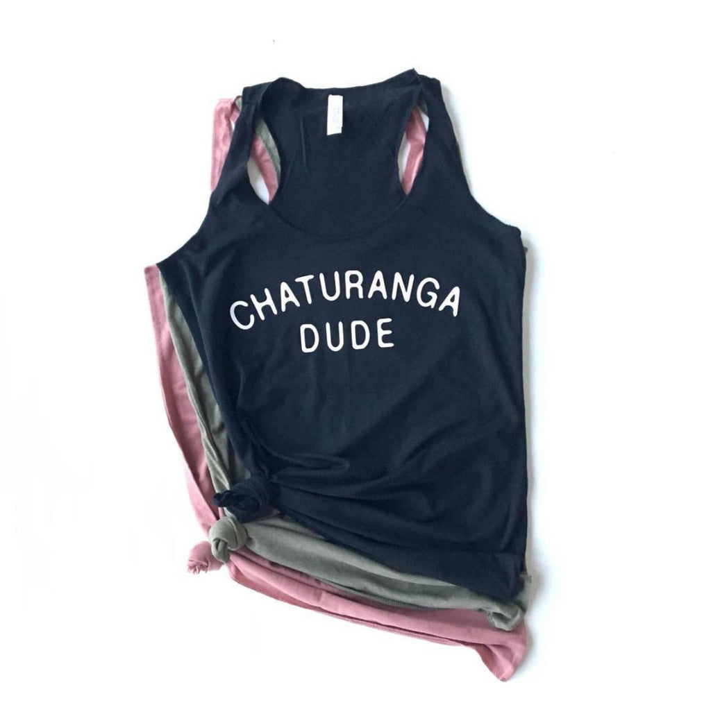 Chaturanga Dude Yoga Tank