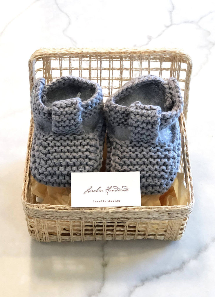 Booties in a Basket (more colors)
