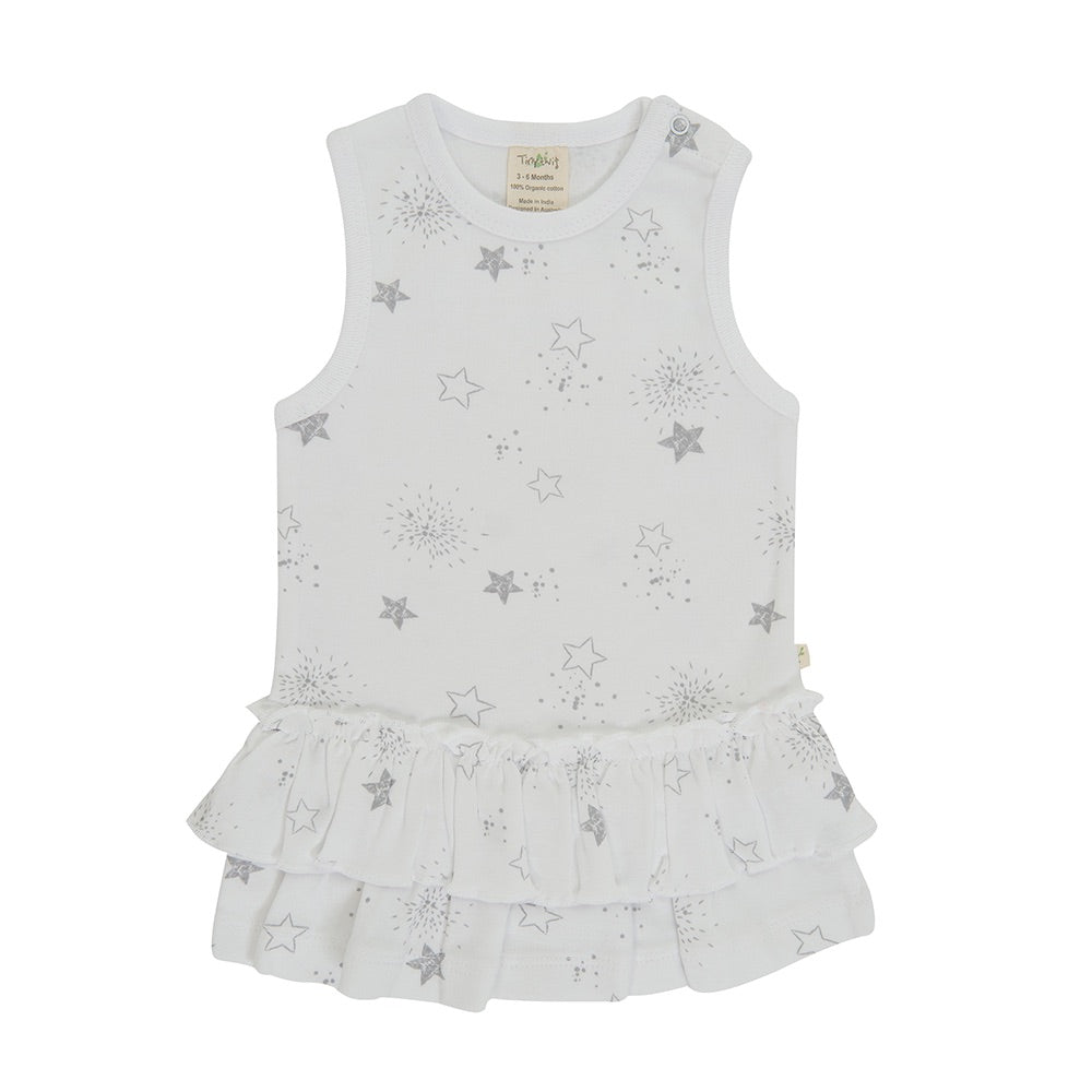 Tiny Twig - Little Stars - Singlet Dress