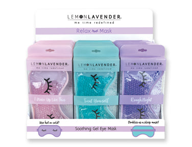 Gel Eye Mask by Lemon Lavender
