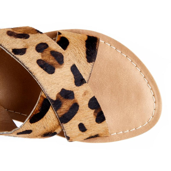 Leopard Pebble Slide Sandal by Matisse Coconuts Collection