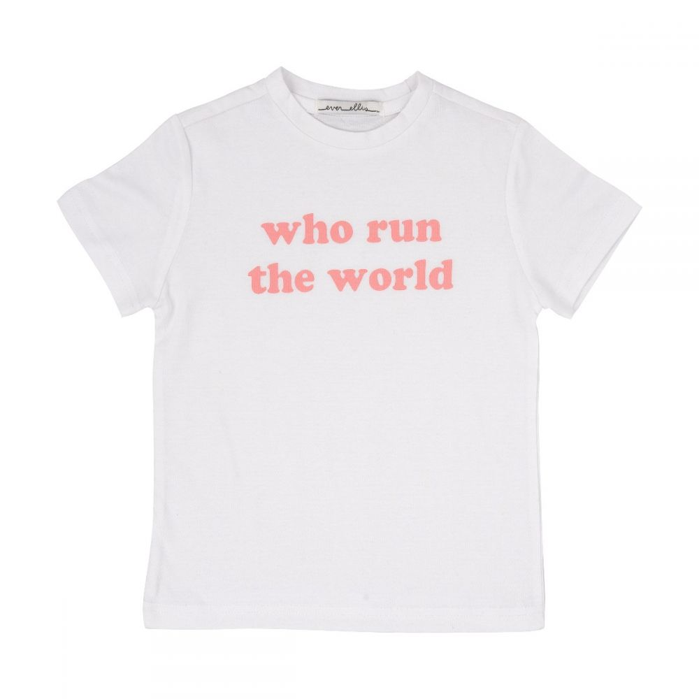 Who Run the World Kid Tee