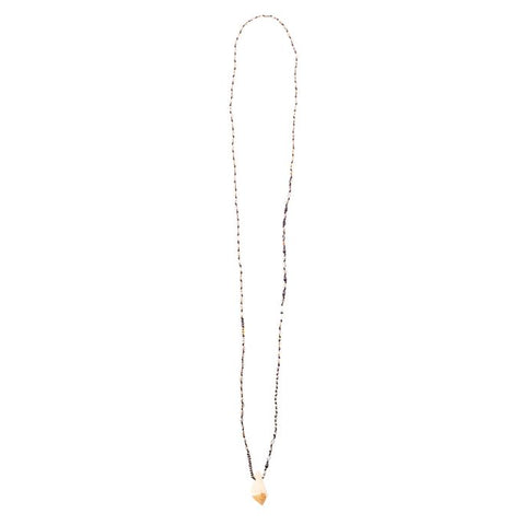 Valley Stone Long Necklace (more colors)