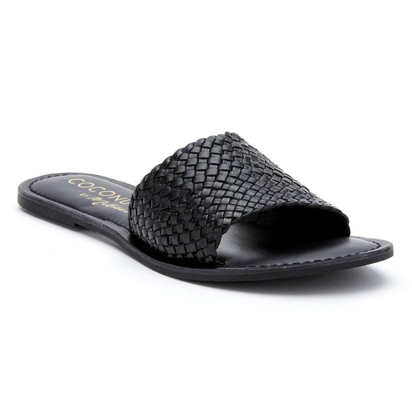 Black Zuma Slide Sandal by Matisse Coconuts Collection
