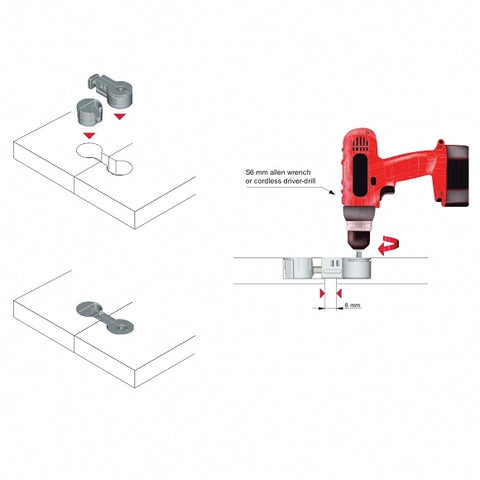 worktop countertop assembly instruction furnica