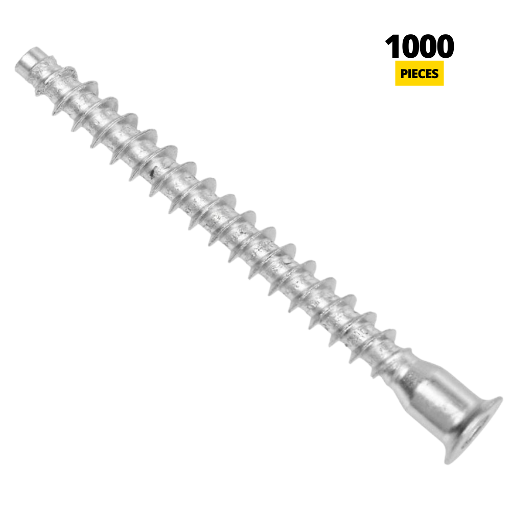 Confirmat Screws - 7.0x70mm (1000 pcs)