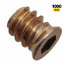 M6 threaded insert 10x13mm - 1000 pcs