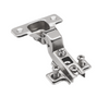 Hinge, H0 Mounting Plate with EURO Screws, Flush Doors