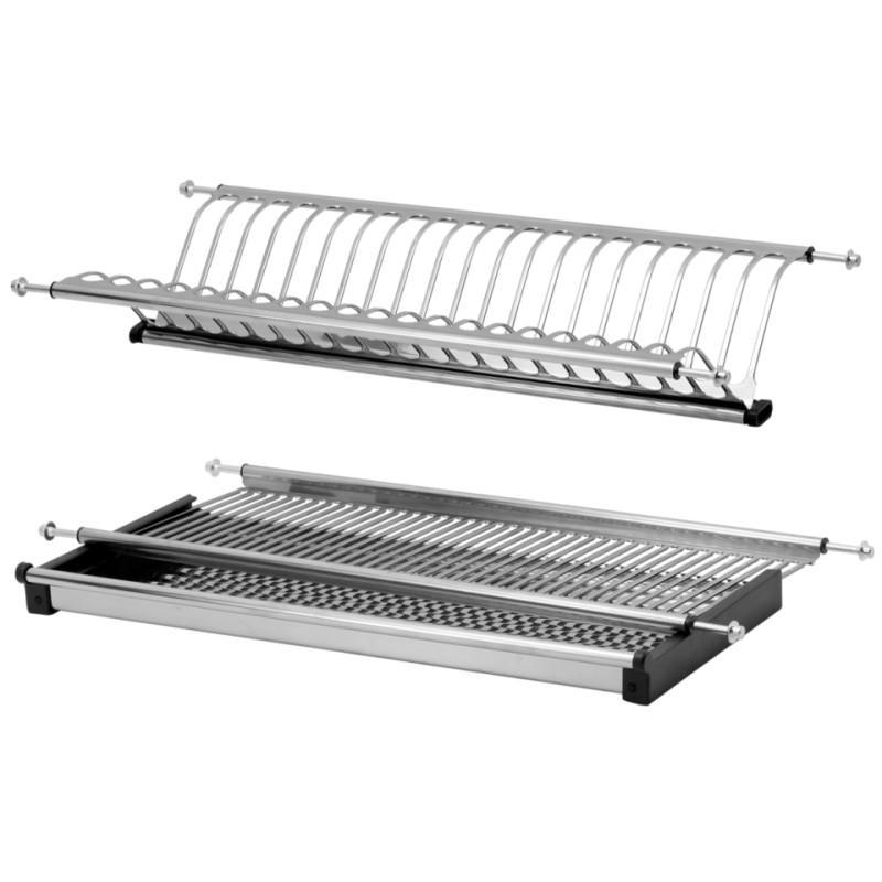 Dish Rack Kitchen Cabinet Stainless Steel 400mm Furnica