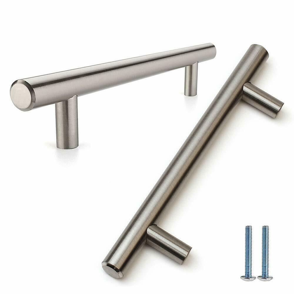 Pull handle brushed steel - 500mm