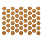 Screw cover caps Self-Adhesive - Oak 14mm