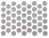 Screw cover caps Self-Adhesive - Trend Grey 14mm