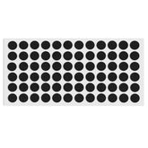 Self-Adhesive Felt Pad Ø15mm Black