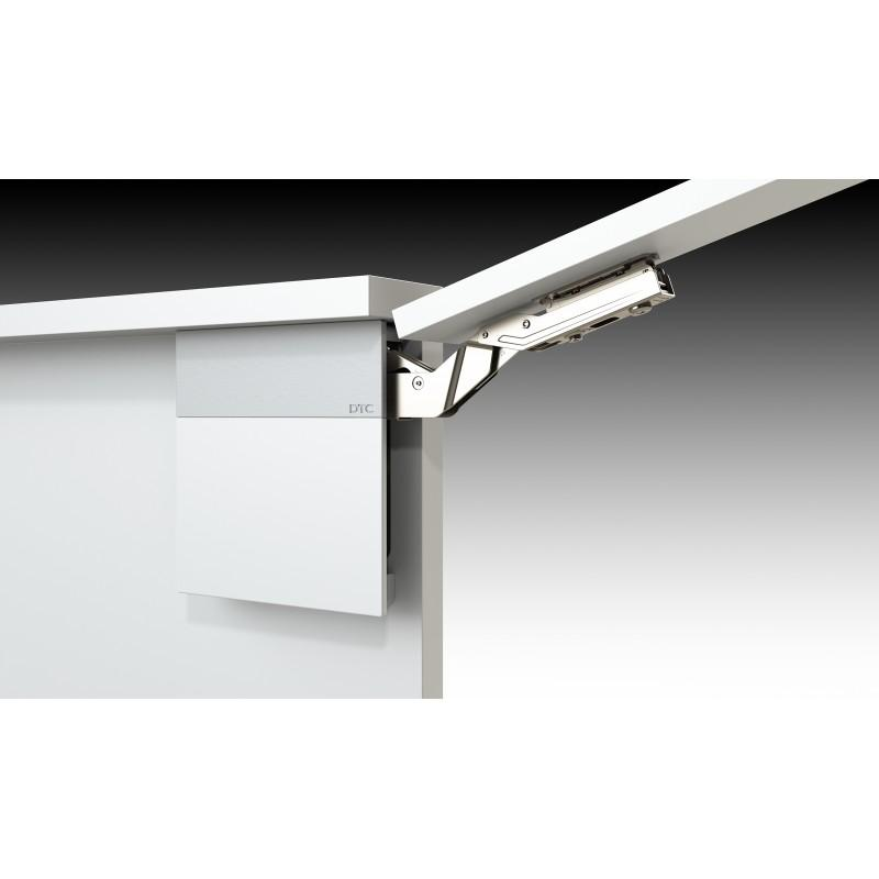 Soft Close Top Cabinet Lift System (L+R), White/Grey