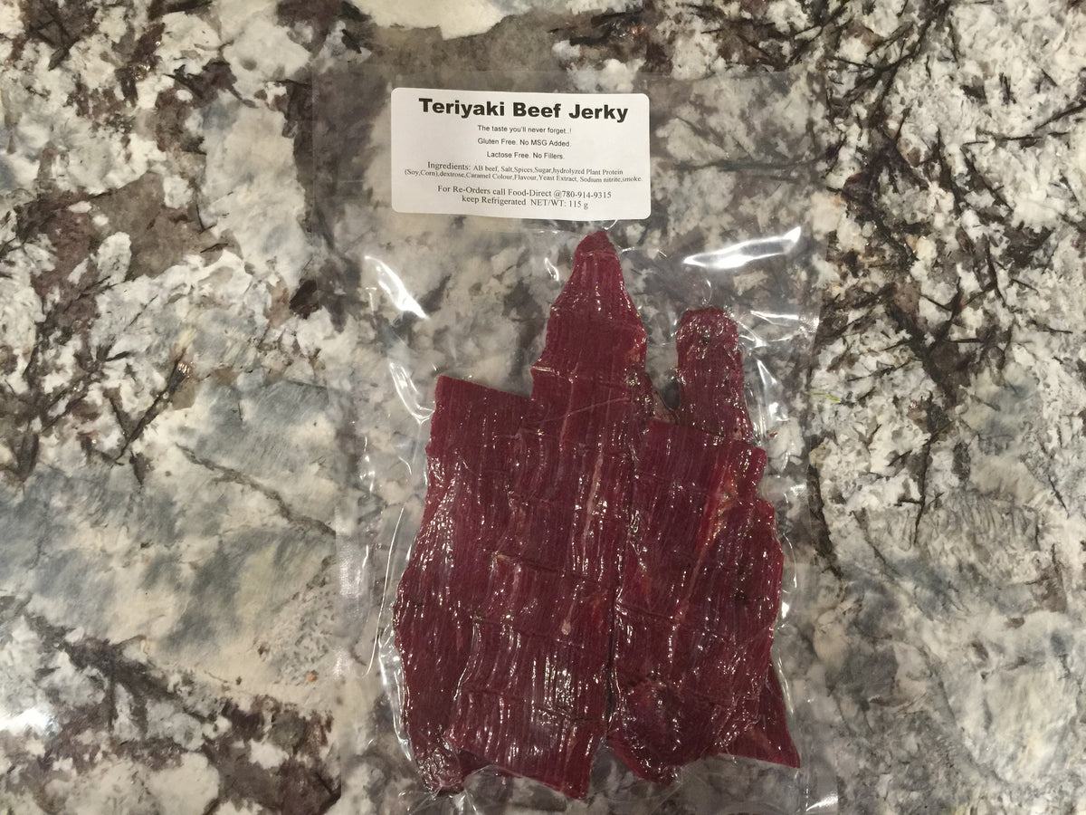The Best Teriyaki Beef Jerky!