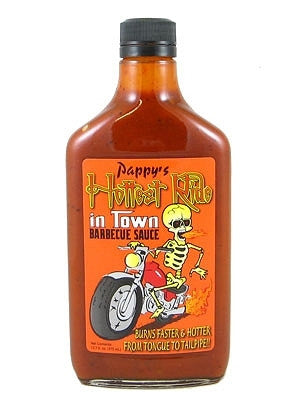 Pappy's Hottest Ride In Town Barbecue Sauce 12.7 fl oz