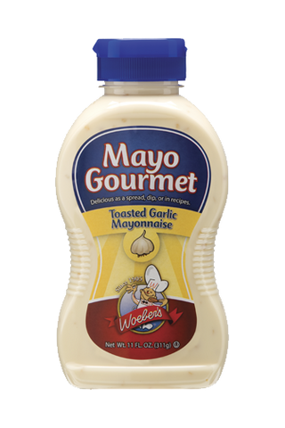 Mayo Gourmet Toasted Garlic Mayonnaise - 11oz
