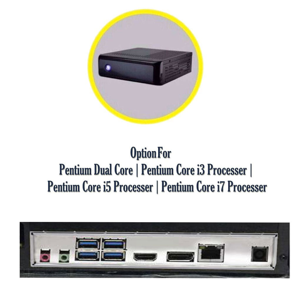 ThinPC Mini pc with Pentium Dual Core / Core i3 / Core i5 / Core i7 Processor
