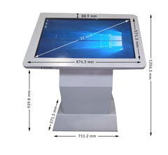 32 Inch Led Touch Screen Display Kiosk