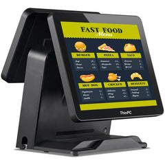 Dual Display TPC i5 Touch Screen POS System - ThinPC