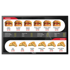 "32"" Signage screen with content management software - ThinPC"