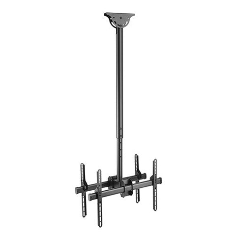 Back-to-Back Flat Panel Ceiling Mounts - ThinPC