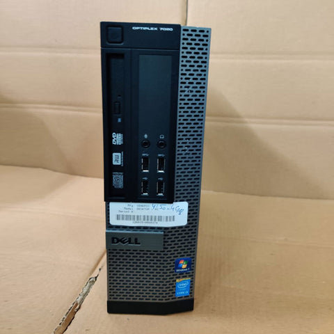 Dell Optiplex 7020 SFF Desktop / Core i5 / 4th Gen / 4 GB RAM / 500 GB HDD with 15 Days Warranty - ThinPC