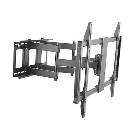 X-Large Heavy-duty Full Motion Curved & Flat Panel TV Wall Mount - ThinPC