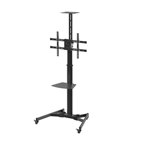 Height Adjustable Steel TV Cart - ThinPC