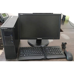 Used Lenovo S510 SFF / Core i5 6th Generation / 4 GB RAM / 500 GB RAM / DVD / 18.5 led / keyboard and mouse