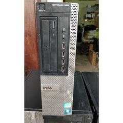 Dell Optiflex 990-SSF/ Intel core i7 2nd generation /4 GB Ram / 320 GB HDD / DVD - ThinPC