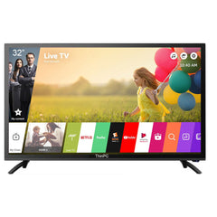 ThinPC 32 inch HD Ready Smart LED TV  / VGA  / HDMI / USB 2.0 / 1 YEAR WARRANTY - ThinPC