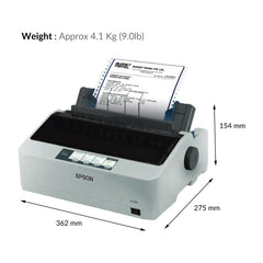 LX-310 Serial Impact Dot Matrix Printer - ThinPC